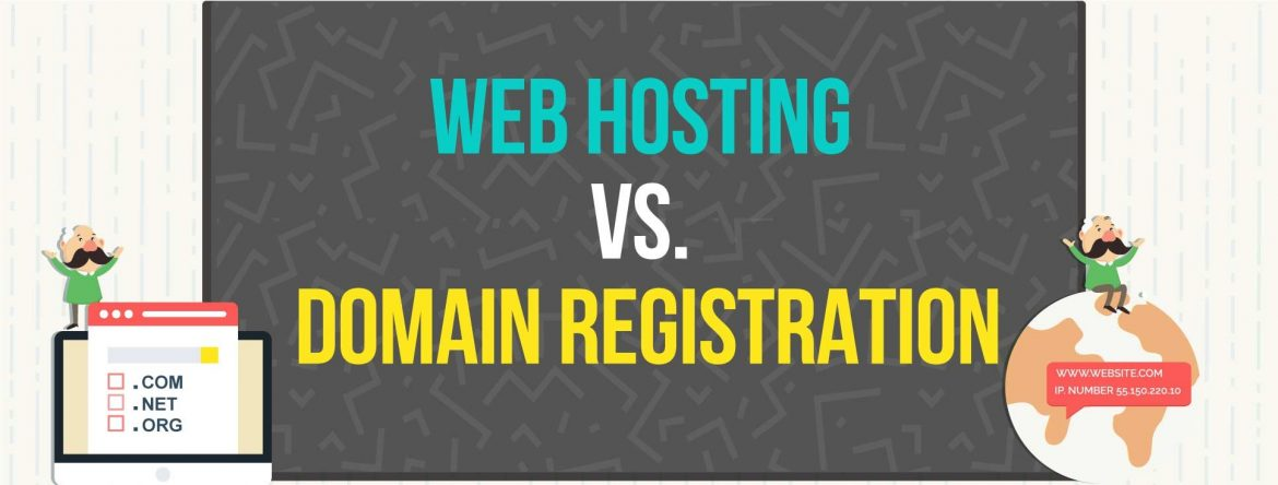 Web Hosing vs Domain Registration